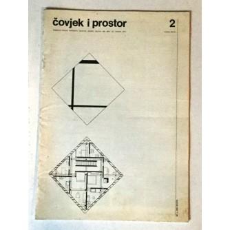 ČOVJEK I PROSTOR BROJ. 419- 1988. ARHITEKTURA
