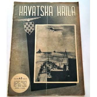 HRVATSKA KRILA ČASOPIS 1942. BROJ 3