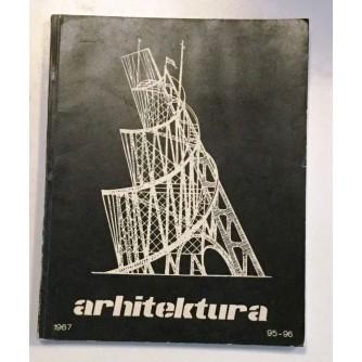 ARHITEKTURA ČASOPIS BROJ 95-96, GODINA 1967.