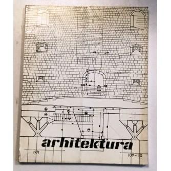 ARHITEKTURA ČASOPIS BROJ 109-110, GODINA 1971.