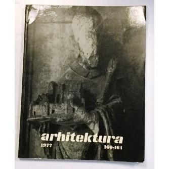 ARHITEKTURA ČASOPIS BROJ 160-161, GODINA 1977.
