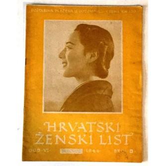 HRVATSKI ŽENSKI LIST 1944. BROJ 8