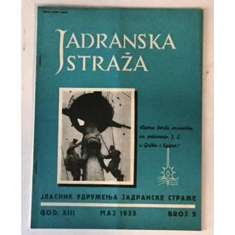 JADRANSKA STRAŽA 1935. BROJ 5