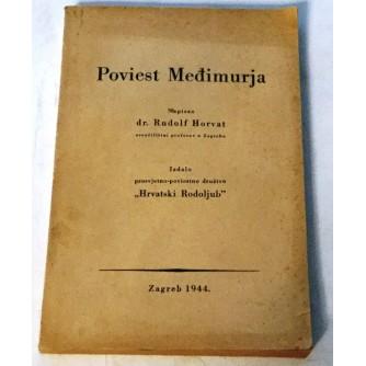 RUDOLF HORVAT : POVIEST MEĐIMURJA