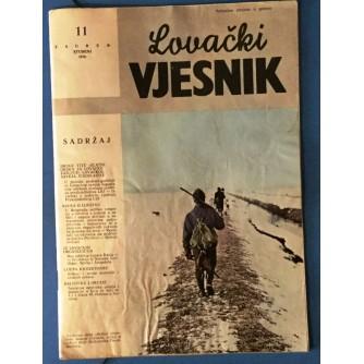 LOVAČKI VJESNIK 1976.  BROJ 11