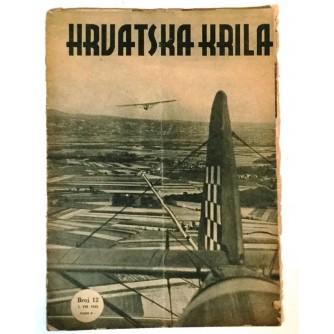 HRVATSKA KRILA ČASOPIS 1943. BROJ 12
