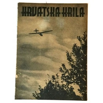 HRVATSKA KRILA ČASOPIS 1942. BROJ 10