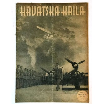 HRVATSKA KRILA ČASOPIS 1942. BROJ 11-12