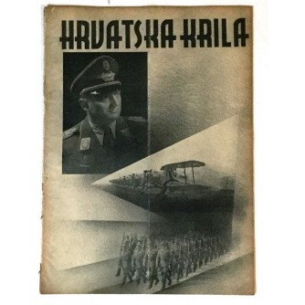 HRVATSKA KRILA ČASOPIS 1942. BROJ 8
