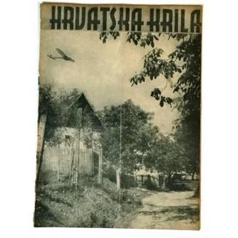 HRVATSKA KRILA ČASOPIS 1942. BROJ 9