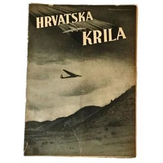 HRVATSKA KRILA ČASOPIS 1941. BROJ 8