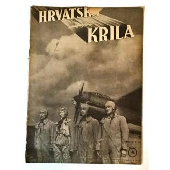 HRVATSKA KRILA ČASOPIS 1941. BROJ 4