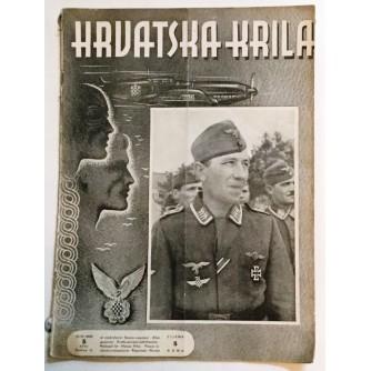 HRVATSKA KRILA ČASOPIS 1942. BROJ 5