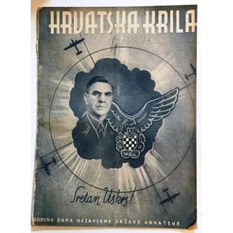 HRVATSKA KRILA ČASOPIS 1942. BROJ 6-7