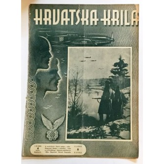 HRVATSKA KRILA ČASOPIS 1942. BROJ 4