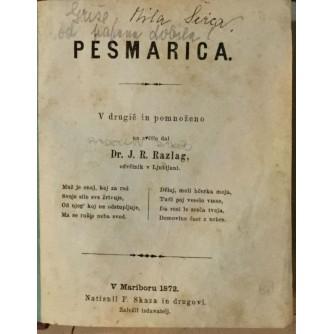 DR. J. R. RAZLAG : PESMARICA