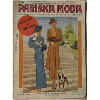PARIŠKA MODA ČASOPIS 1935. BROJ 5