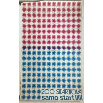 START 200 STARTOVA , REKLAMNI PLAKAT