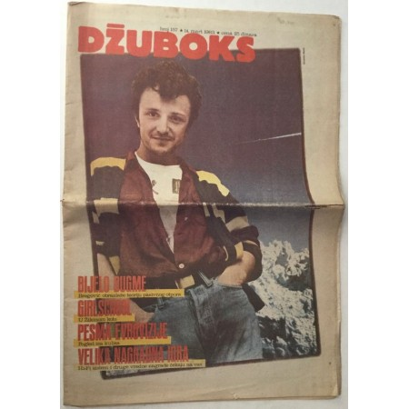 DŽUBOKS NOVINE 1983. BROJ 157