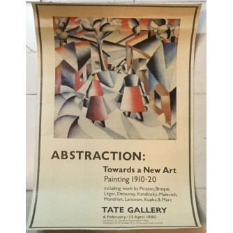 ABSTRACTION TOWARDS A NEW ART , TATE GALERY 1980