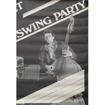 SWING PARTY  JAZZ ,  JUGOTON , REKLAMNI PLAKAT