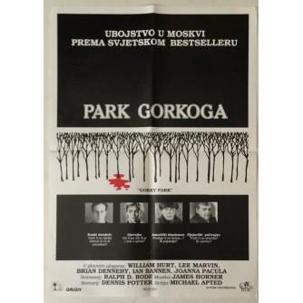 PARK GORKOGA : GORKY PARK : WILLIAM HURT : LEE MARVIN : FILMSKI PLAKAT