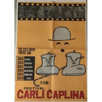 CHARLIE CHAPLIN : FESTIVAL ČARLI ČAPLINA : FILMSKI PLAKAT