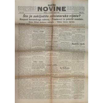 RIJEČKE NOVINE , BROJ 151 , GODINA 1914