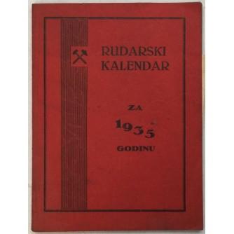 FRAN PODBREŽNIK : RUDARSKI KALENDAR ZA 1935.