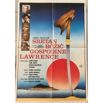 DAVID BOWIE : SRETAN BOŽIĆ GOSPODINE LAWRENCE , FILMSKI PLAKAT