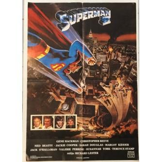 SUPERMAN 2 FILMSKI PLAKAT