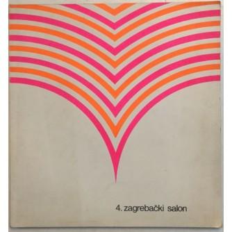 4. ZAGREBAČKI SALON 1969. UMJETNIČKI PAVILJON : OPREMIO IVAN PICELJ