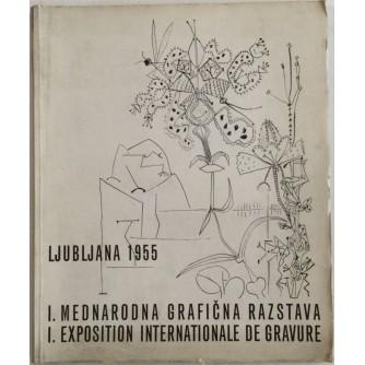 I. MEDNARODNA GRAFIČNA RAZSTAVA LJUBLJANA 1955.