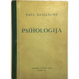 PAUL GUILLAUME : PSIHOLOGIJA