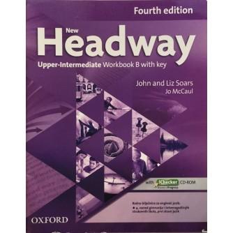 JOHN AND LIZ SOARS : JO MCCAUL : NEW HEADWAY UPPER INTERMEDIATE WORKBOOK B WITH KEY
