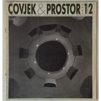 ČASOPIS ČOVJEK I PROSTOR , ARHITEKTURA , ,BROJ 1-2 , GODINA 1992