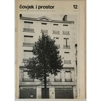 ČASOPIS ČOVJEK I PROSTOR , ARHITEKTURA , BROJ 12 GODINA 1988.