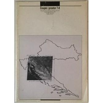 ČOVJEK I PROSTOR , ČASOPIS , ARHITEKTURA BROJ 7-8 , GODINA 1989