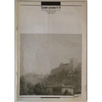 ČOVJEK I PROSTOR , ČASOPIS ARHITEKTURA  BROJ 9-10 , GODINA 1989