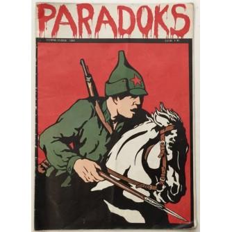 PARADOKS , LIST ZA OZBILJNA PITANJA , ČASOPIS BROJ 10-11 , GODINA 1968.