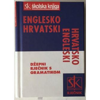 GORDANA MIKULIĆ : ENGLESKO-HRVATSKI I HRVATSKO-ENGLESKI DŽEPNI RJEČNIK S GRAMATIKOM