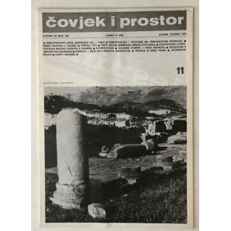 ČOVJEK I PROSTOR MJESEČNIK SAVEZA ARHITEKATA HRVATSKE BROJ 248,GODINA 1973