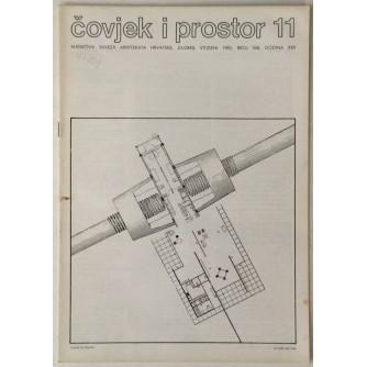 ČOVJEK I PROSTOR MJESEČNIK SAVEZA ARHITEKATA HRVATSKE BROJ 368,GODINA 1983