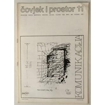 ČOVJEK I PROSTOR MJESEČNIK SAVEZA ARHITEKATA HRVATSKE BROJ 380 ,GODINA 1984