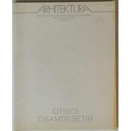 ARHITEKTURA , ČASOPIS BROJ 204/207 5 IZ 1988. GODINE