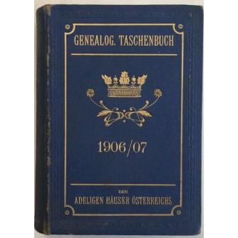 GENEALOGISCHES TASCHENBUCH DER ADELIGEN HAUSER OESTERREICHS 1906/17 , ZWEITRE JAHRGANG