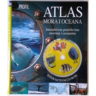 JOHN WOODWARD : ATLAS MORA I OCEANA : INTERAKTIVNA PUSTOLOVINA MORIMA I OCEANIMA : INTERAKTIVNI CD-ROM