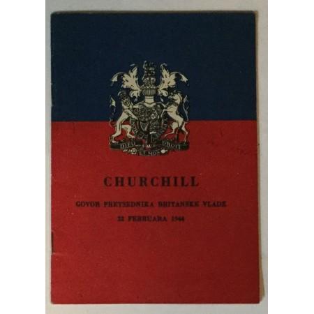 CHURCHILL GOVOR PREDSJEDIKA BRITANSKE VLADE 22.02.1944