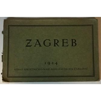 ZAGREB SA OPISOM PROF. DR. IVANA BOJNIČIĆA 1924.