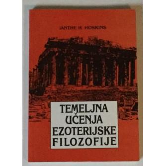 IANTHE HOSKINS : TEMELJNA UČENJA EZOTERIJSKE FILOZOFIJE
